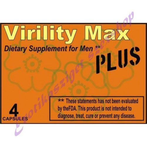 Virility Max Plus kapszula