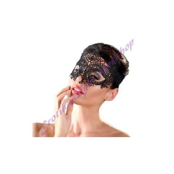 Csipkehatású hímzett szemmaszk - Cottelli Collection