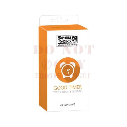 Secura ejakuláció késleltető óvszer - 24 db