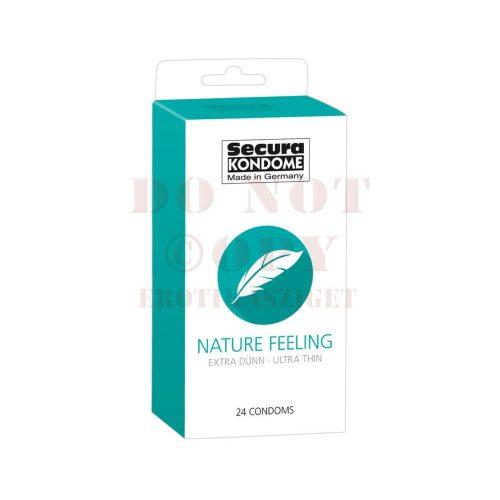 Secura nature feeling - extra vékony óvszer - 24 db