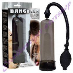 Bang Bang fekete péniszpumpa
