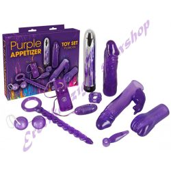 Purple Appetizer lila vibrátoros szett