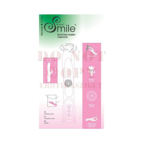 Smile forgófejes nyuszis vibrátor