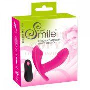 Vibrációs szeméremizgató G pont dildóval – Smile