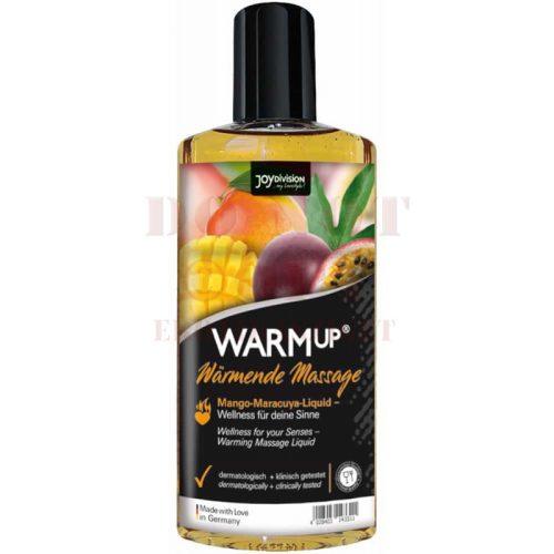 Warm up masszázsolaj - mango/ maracuja