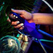 Bi Stronic Fusion vibrátor lökő vibrátor - lila