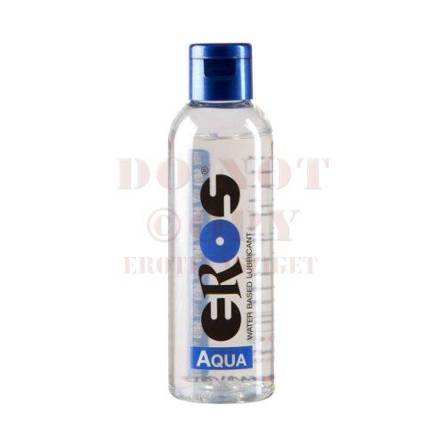 Eros aqua flakonos vízbázisú síkosító - 100 ml