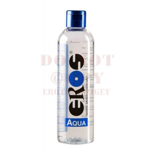 Eros aqua flakonos vízbázisú síkosító - 250 ml