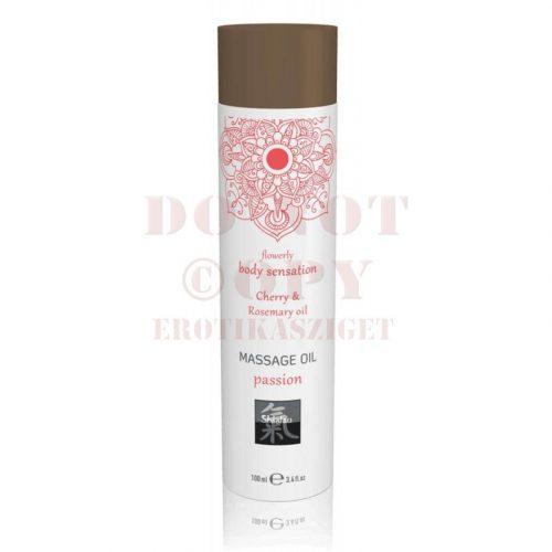 Passion luxus masszázsolaj - cseresznye & rózsaolaj