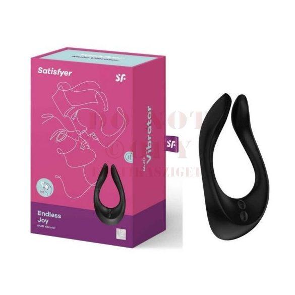 Satisfyer Partner Multifun 2 vibrátor - fekete