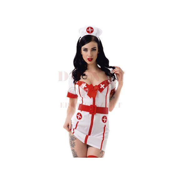 LeFrivole 4 részes nővér jelmez - S/M