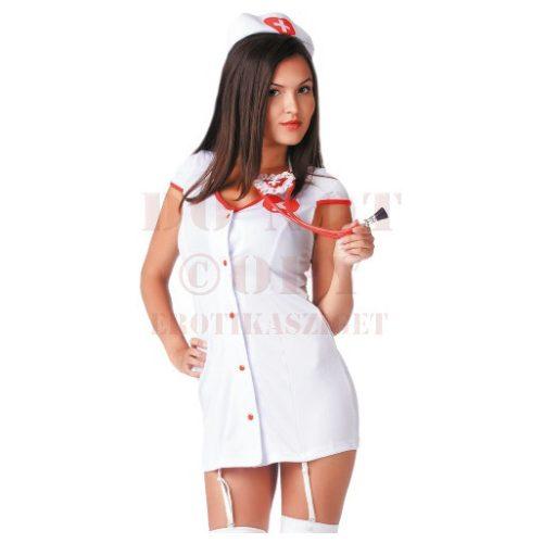 LeFrivole 2 részes nővér jelmez - S/M