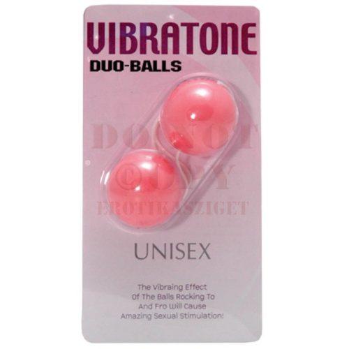 Unisex duo balls - rózsaszín kéjlabdák