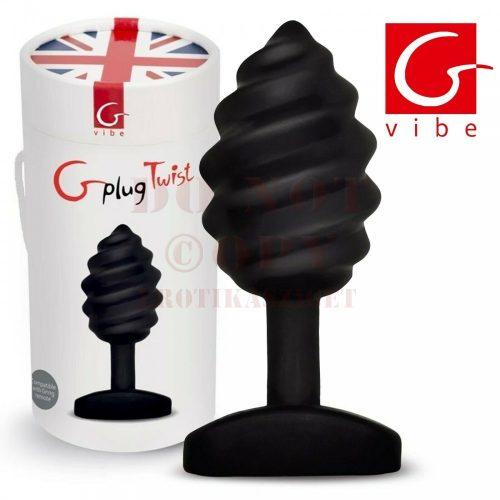 G-plug Twist tölthető anál vibrátor - kicsi