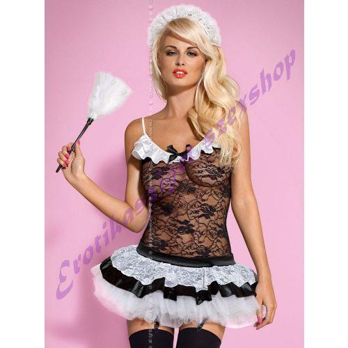 Obsessive Housemaid takarítónő jelmez - S/M