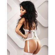 Lolitta Loveliness fehér szett - L/XL