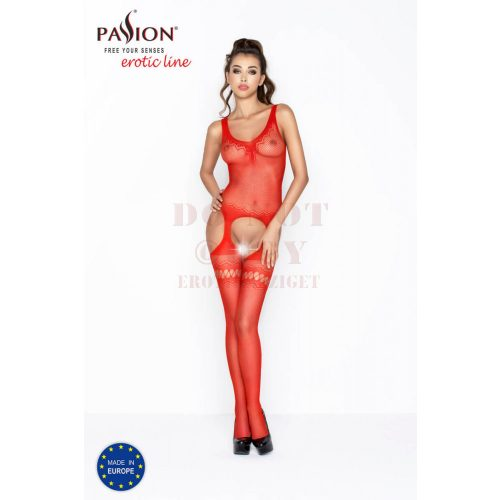 Passion piros necc harisnyaruha - BS038