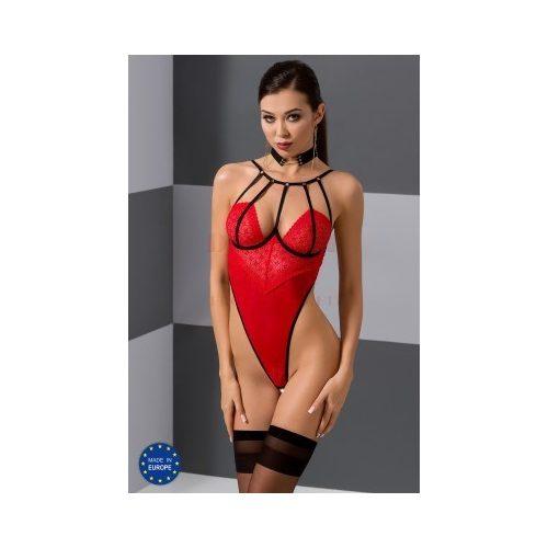 Passion Akita piros nyitott body - L/XL