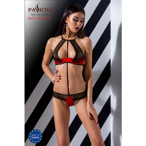 Passion Scarlet mellemelős body - S/M