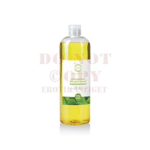 Citromfüves növényi masszázsolaj - 1000 ml