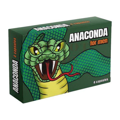Anaconda férfierő kapszula - 4 db