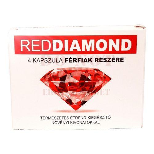 Red Diamond kapszula férfiaknak - 4 db