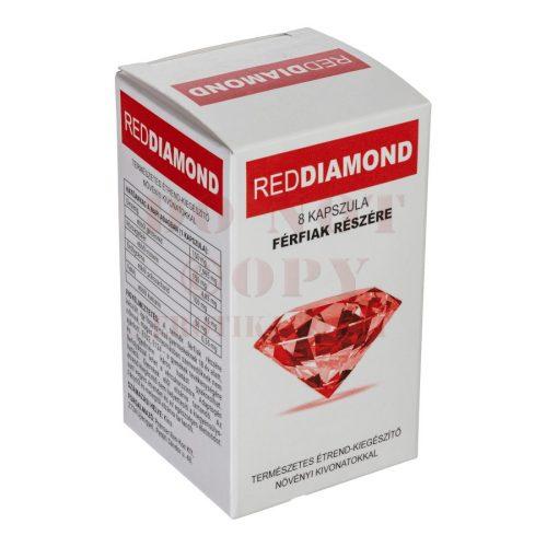 Red Diamond kapszula férfiaknak - 8 db