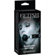 Fetish lélegzős szájpecek