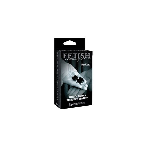 Fekete üveg kéjgolyók - Fetish Fantasy