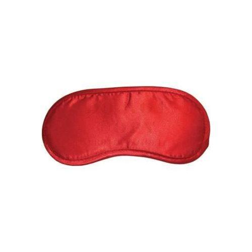 Piros szatén szemmaszk