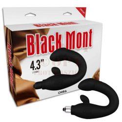 Black Mont szilikon prosztata vibrátor