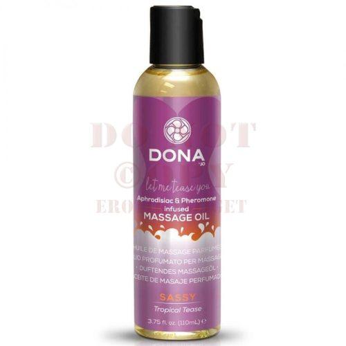 Dona illatos masszázsolaj - trópusi 110 ml