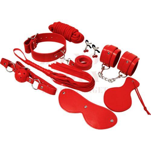 Expresience piros kötöző szett - 9 részes