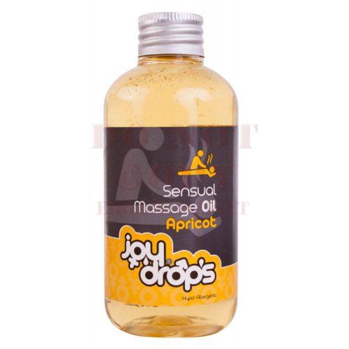 Sensual ízesített masszázsolaj - apricot