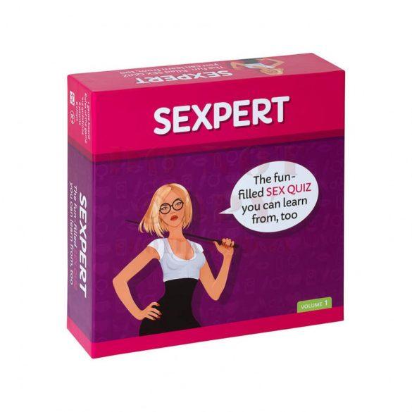Szexértő erotikus társasjáték angol nyelven